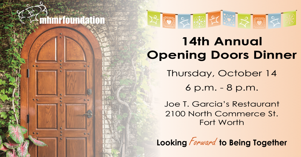 Opening Doors Dinner Thursday Oct.14 6PM-8PM 2100 North Commerce St. Fort Worth